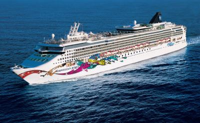 Norwegian Cruise Line ship in Los Angeles